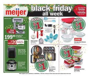 Meijer Ad Black Friday Weeklong Kitchen 2017