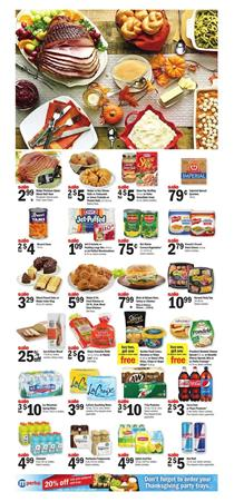 Meijer Weekly Ad Thanksgiving Nov 19 - 25, 2017