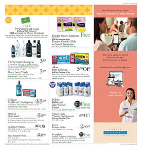 Publix Ad Personal Care Nov 8 - 14, 2018