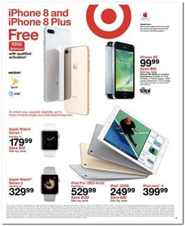Target Black Friday Ad Electronics Nov 23 - 25, 2017