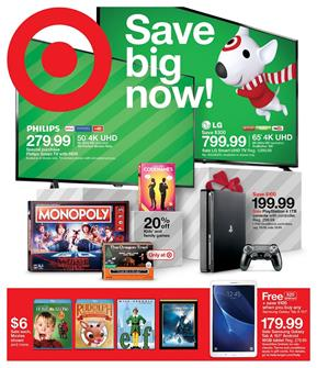 Target Weekly Ad Big Deals November 19 - 22, 2017