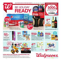 Walgreens Weekly Ad Food Nov 19 - 25, 2017