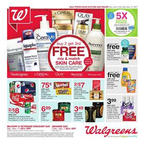Browse Walgreens Weekly Ad Circular. Get this week Walgreens Ad offers, flyer sale prices, grocery savings & digital coupons and beauty deals & promotions. Save with the Walgreens Balance Rewards – get 10 points per $1 on almost everything, earn 5, points and .
