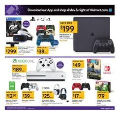 Walmart Ad Black Friday Electronics 2017