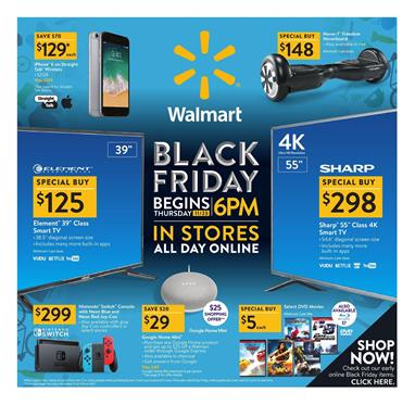 Walmart Black Friday Ad Deals 2017