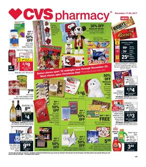 cvs weekly ad christmas dec 17 23 2017