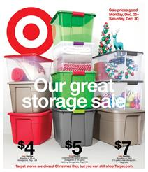 Target Weekly Ad Deals Dec 25 - 30, 2017