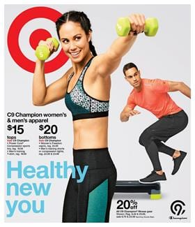 Target Weekly Ad Fitness Dec 31 - Jan 6 2018