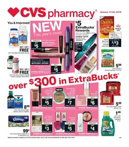 CVS Weekly Ad Deals January 14 - 20, 2018