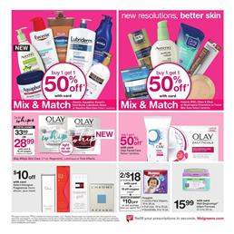 Walgreens Weekly Ad Personal Care Jan 14 - 20, 2018