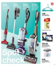 Target Ad Home Appliances April 8 14 2018 Vacuum Cleaners