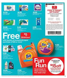 Target Ad Cleaning Products Sep 16 22 2018