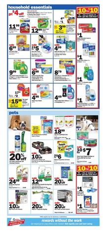 household essentials from the latest meijer ad can be seen on pg 12 they have popular brands of chemical cleansers and tools to get effective results