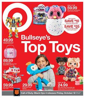 Target Weekly Ad Toy Sale Oct 7 13 2018