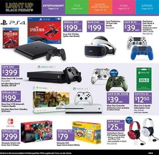 Walmart Black Friday Ad Entertainment 2018 Game And Movie