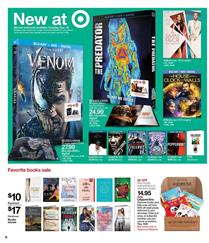 Target Weekly Ad Venom Blu-Ray and More Gifts Dec 16 - 22, 2018