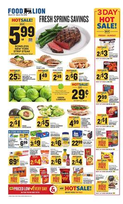 Weekly Sales Circular >> Food Lion Weekly Ad Grocery Sale New Deals Coupons