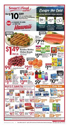 Smart N Final Near Me >> Smart And Final Weekly Ad Deals Mar 27 Apr 2 2019