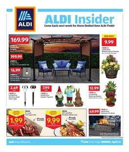 f5a3fbdf3652 ALDI Weekly Ad offers a satisfying range of patio furniture in this ad.  Browse the ALDIFind deals on products like Gardenline pergola.
