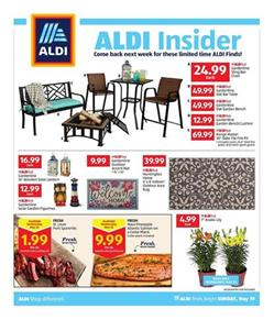 Awesome Aldi Weekly Ad Deals May 19 25 2019 Gmtry Best Dining Table And Chair Ideas Images Gmtryco