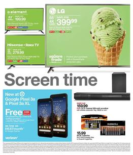 Target Ad Electronic Sale May 12 - 18, 2019