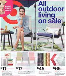 Target Ad Preview Outdoor Living Furniture May 19 25 2019
