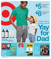 afdfcf76 If you haven't bought a gift yet, there is your chance for a nice deal from  Target Weekly Ad. Father's Day is Jun 16. There is only one week left for  these ...
