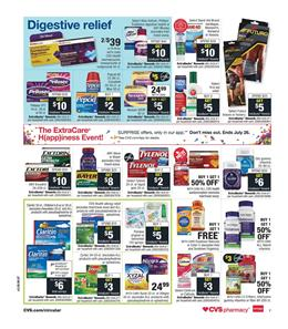 CVS Weekly Ad Pharmacy Extrabucks