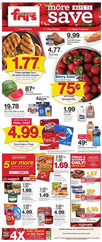 Fry's Weekly Ad Aug 14 - 20, 2019 | Weekly Specials, Coupons