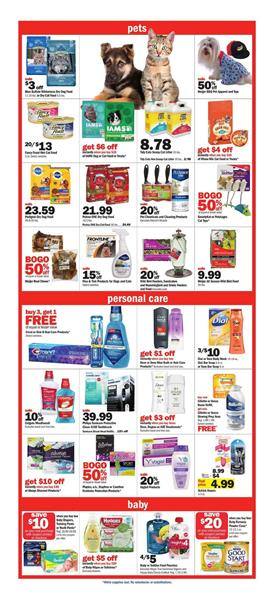 Meijer Weekly Ad Household Products Jun 30 - Jul 6, 2019