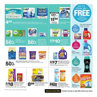 4188b4aba77 Save with online coupons and BOGO free deals on the latest Walgreens Ad.  Bathroom consumables like paper towels, bath tissues, and popular brands  are on ...