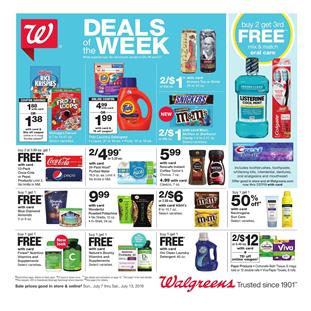 2675f761303 This week Walgreens Ad has a large part for the grocery products and  household items. A lot of BOGO Free deals are viewable on the first page.