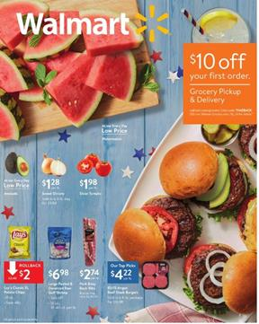 Walmart Ad Clothing Deals Jun 28 - Jul 13, 2019