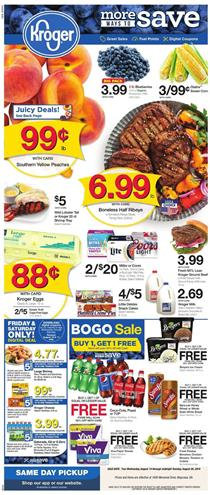 Kroger Weekly Ad Sep 11 - 17, 2019 | Grocery, Coupons, Previews