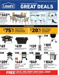 Lowes Weekly Ad Deals Aug 15 21 2019