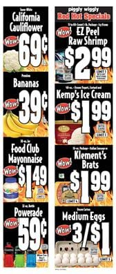 Piggly Wiggly Weekly Ad Grocery Sale Aug 21 27 2019