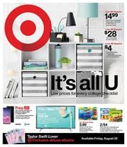 Target Sheet Sets Weekly Ad Sale Aug 18 24 2019
