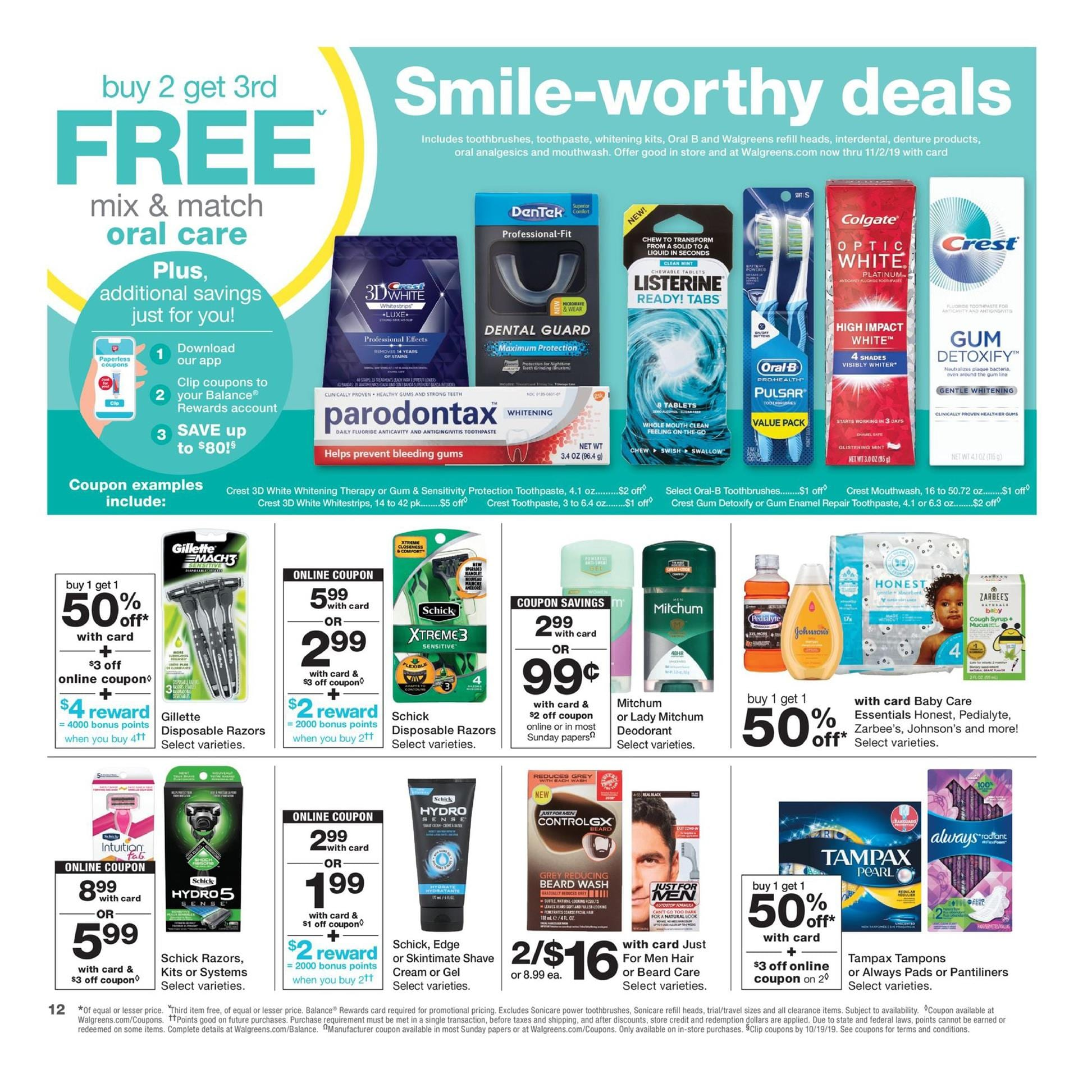 Walgreens Personal Care Coupons Weekly Ad Savings Weeklyads2