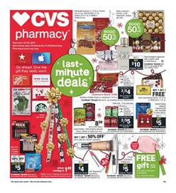 CVS Weekly Ad Last Minute Gifts Dec 22 - 28, 2019