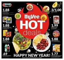 Hyvee Hot Deals Dec 25 - 31, 2019 | Weekly Ad