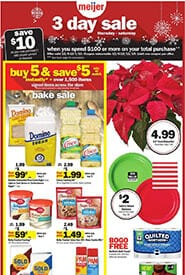 Meijer 3-Day Sale Grocery Items Weekly Ad Dec 5 - 7, 2019