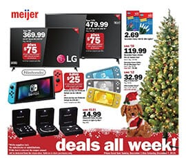 Meijer Holiday BOGO Deals Dec 1 - 7, 2019
