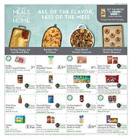 Publix Meals and Ingredients On Sale Nov 29 - Dec 4, 2019