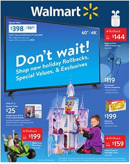Walmart Christmas Decoration Sale Dec 1 - 14, 2019