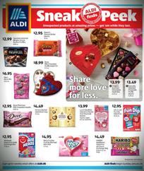 ALDI Ad Valentine's Day Sale Jan 26 - Feb 1, 2020