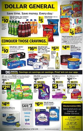 Dollar General Ad Dg Coupons Jan 19 25 2020 Weeklyads2