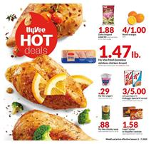 Hyvee Weekly Ad Deals Jan 1 - 7, 2020