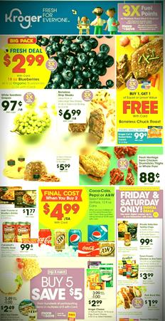 Kroger Ad Fresh Deals Preview Jan 22 - 28, 2020
