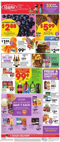 Ralphs Weekly Ad Fuel Points Jan 22 - 28, 2020