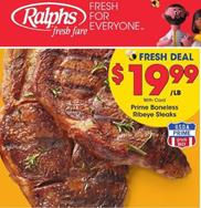 Ralphs Weekly Ad Prime Boneless Ribeye Steak